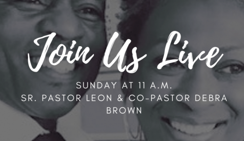 Join Us Live for Sermons on Facebook